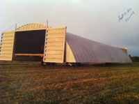 120 ft steel quonset