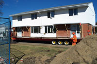 Duplex Building Move
